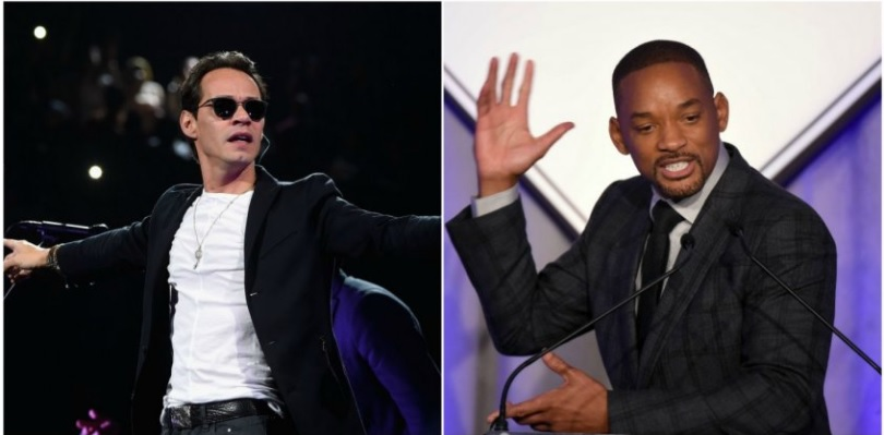 Will Smith aprendió a bailar salsa con Marc Anthony
